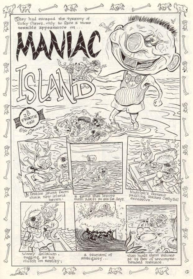 Maniac Island  pg 1