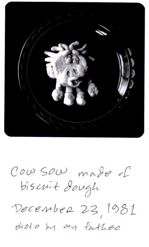 #15 Cow Sow photo  w handwr caption