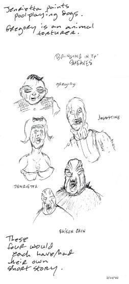 #21b Augustine sketches copy  split a  2 14 '92