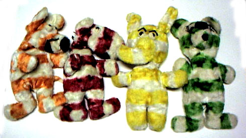 Fruit Stripe stuffed animals